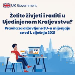 Život i rad u UK u 2021.godini