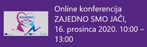 """Poziv na online konferenciju """"Zajedno smo jači"""""""