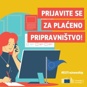 Prijave za plaćeno pripravništvo u Europskoj komisiji