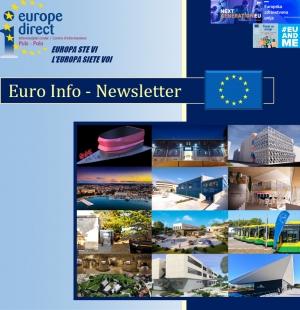 Izašao je 75. broj Euro Info Newslettera EDIC Pula-Pola za mjesec ožujak 2021.