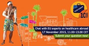 Facebook chat o EU prekograničnoj zdravstvenoj skrbi - 17. studeni 2015.
