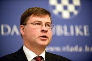 Potpredsjednik Europske Komisije Valdis Dombrovskis u Hrvatskoj