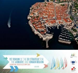 Prvi Forum Strategije EU-a za jadransku i jonsku regiju (EUSAIR)