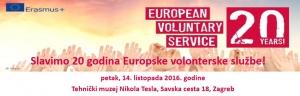 Obilježavanje 20. godišnjice Europske volonterske službe