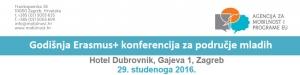 Godišnja Erasmus+ konferenciju za područje mladih
