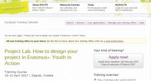 Najava treninga: Project Lab -  kvalitetno pisanje projekata u području Erasmus+ programa