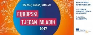 Europski tjedan mladih: od 1. do 7. svibnja 2017. diljem Hrvatske