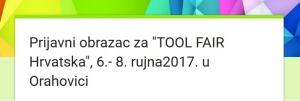 """Poziv na prijavu za sudjelovanje na seminaru """"Tool Fair Hrvatska – Sajam metoda i alata neformalnog učenja"""""""
