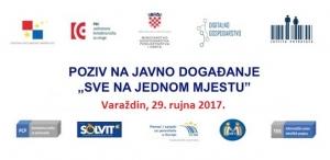 """Javno događanje """"Sve na jednom mjestu"""" u Varaždinu, 29. rujna 2017."""
