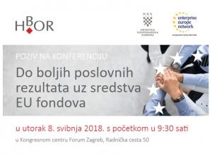 Najava konferencije - Do boljih poslovnih rezultata uz sredstva EU fondova