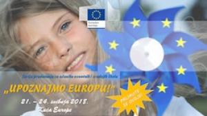 Najava serije predavanja za učenike osnovnih i srednjih škola o EU-u