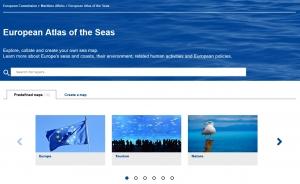 Redizajnirani Europski atlas mora