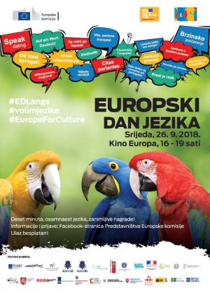 Speak dating - Europski dan jezika 2018.