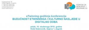 eTwinning godišnja konferencija - Budućnost eTwinninga i kulturno nasljeđe u digitalno doba
