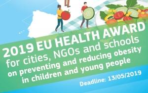 Europska komisija pokrenula Zdravstvenu nagradu EU za gradove, nevladine organizacije i škole