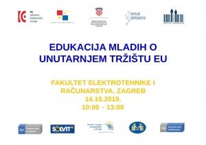 Poziv studentima na INFORMIRANJE MLADIH O UNUTARNJEM TRŽIŠTU EU-a