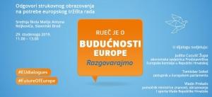 Dijalog s građanima: Odgovori strukovnog obrazovanja na potrebe europskog tržišta rada