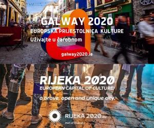 Rijeka i Galway (Irska) Europske prijestolnice kulture 2020.