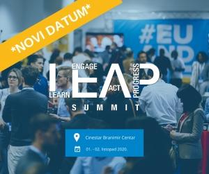 Konferencija LEAP Summit Zagreb 2020 - odgoda, novi datumi
