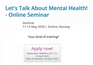 "Online seminar ""Let's Talk About Mental Health"""