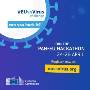 Prijavite se na hackathon #EUvsVirus i sudjelujte u borbi protiv koronovariusa