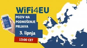 WiFi4EU poziv na podnošenje novih prijava