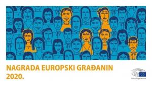 """Nagrada za iznimna postignuća """"Europski građanin za 2020."""""""