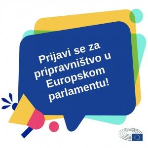 Plaćeno pripravništvo u Europskom parlamentu