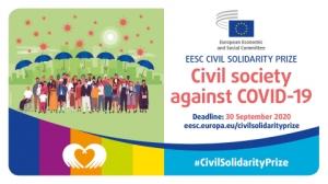 Otvorene prijave za Nagradu EGSO-a za građansku solidarnost posvećenu borbi protiv koronavirusa