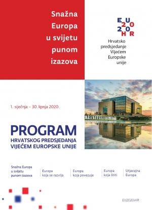 Program hrvatskog predsjedanja Vijećem EU